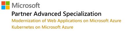Partner advanced specialization - 2 App modernization + AKS