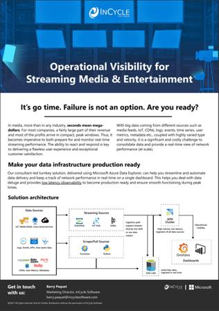 Hyper-scale Streaming Telemetry on Azure Data Explorer