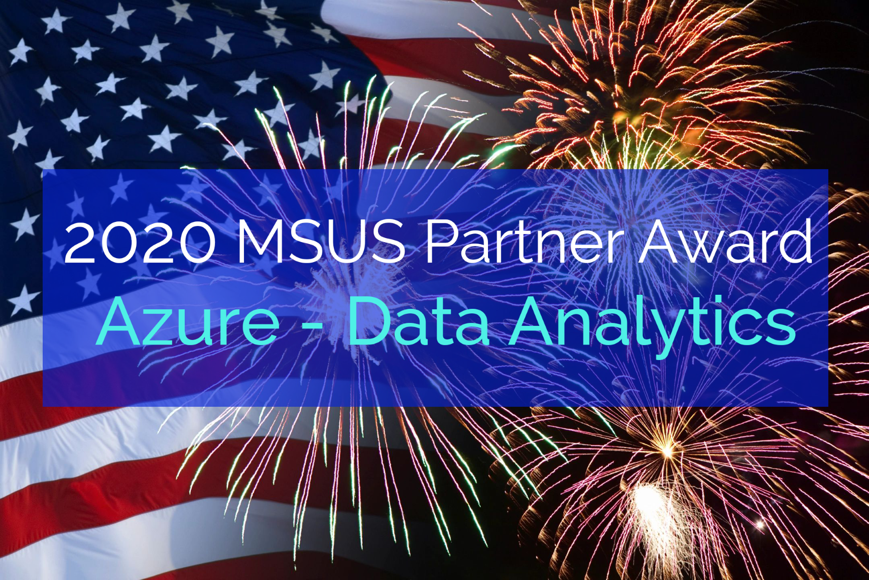 MSUS Award - flag + firework - with text 2MP